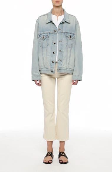 Cate Oversize Denim Jacket, video thumbnail