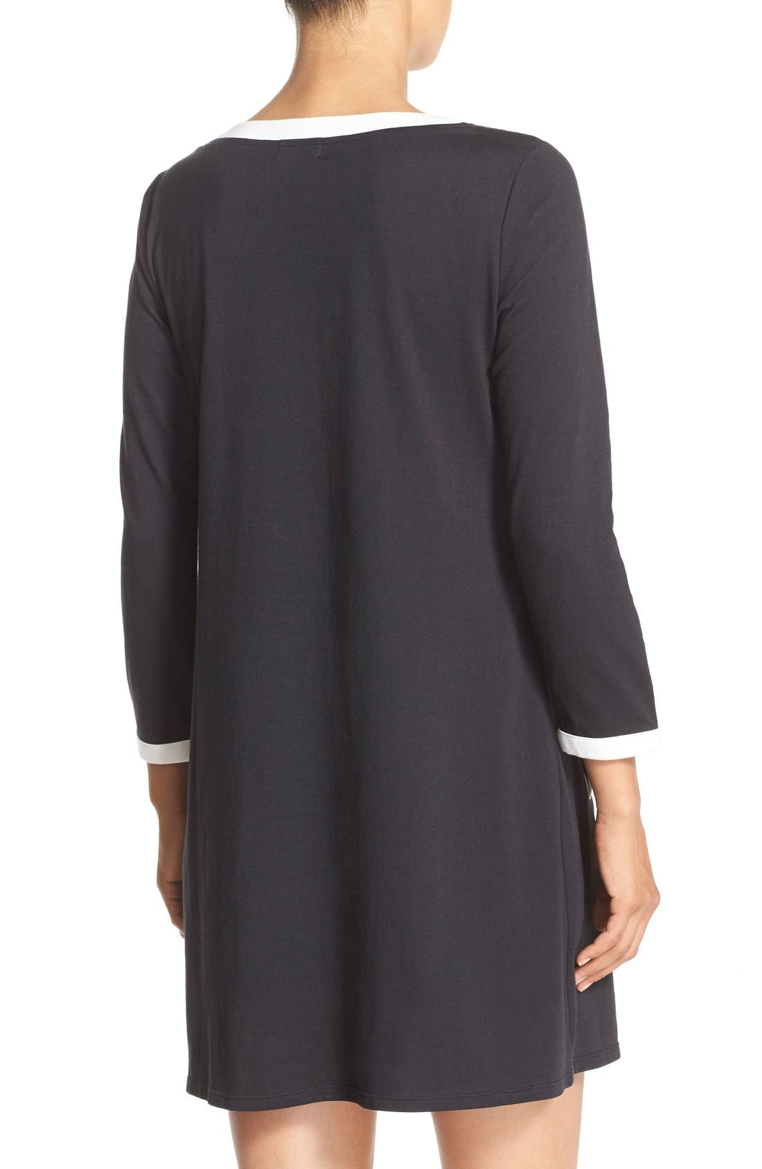 ,                             graphic sleep shirt,                             Alternate thumbnail 4, color,                             001