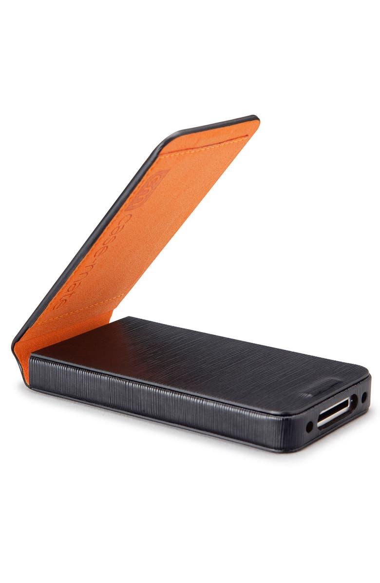 CASE-MATE<SUP>®</SUP> 'Flip Wallet' iPhone 4 Case, Main, color, 001
