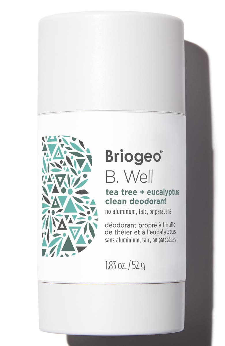BRIOGEO B. Well Tea Tree + Eucalyptus Clean Deodorant, Main, color, NO COLOR