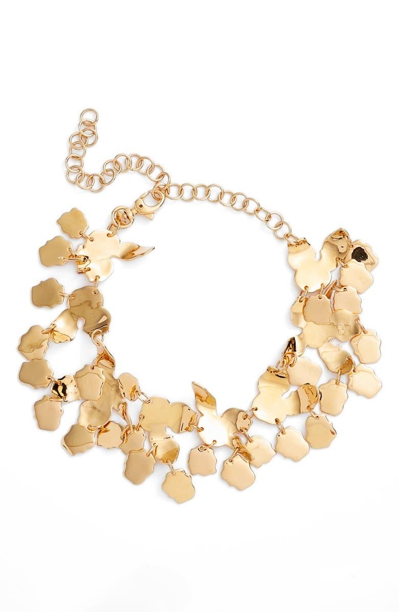 LELE SADOUGHI Golden Lily Necklace, Main, color, 710