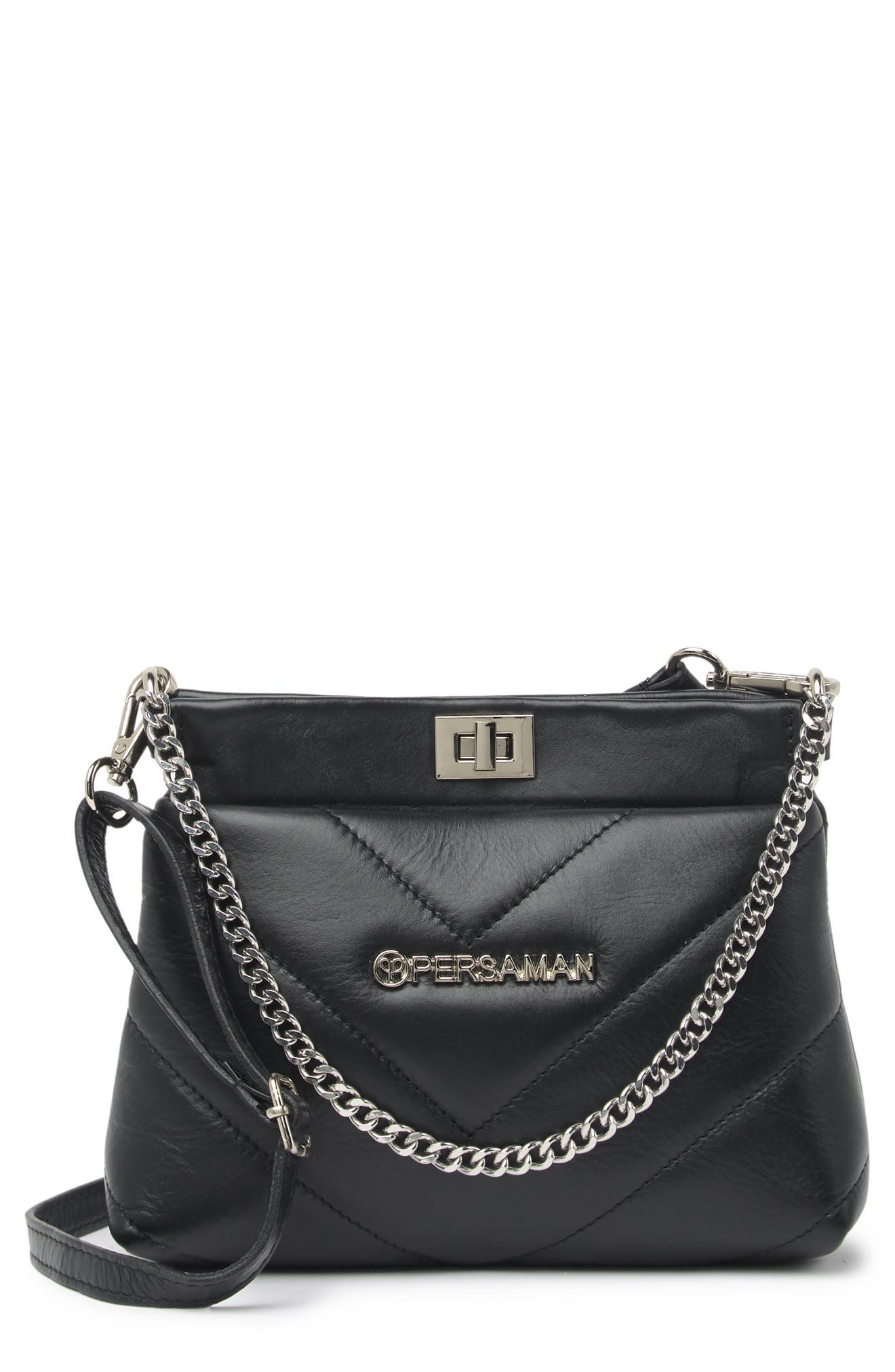 Image of Persaman New York Luisa Quilted Leather Shoulder Bag