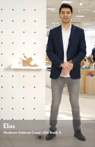 Aster Wedge Slingback Sandal, sales video thumbnail