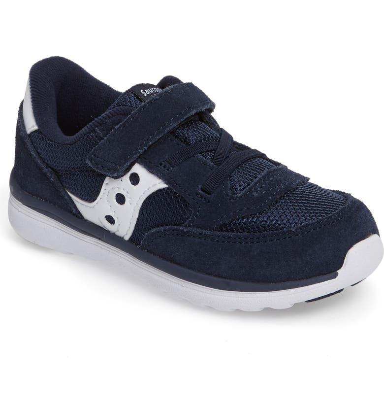 SAUCONY Jazz Lite Sneaker, Main, color, NAVY/ WHITE