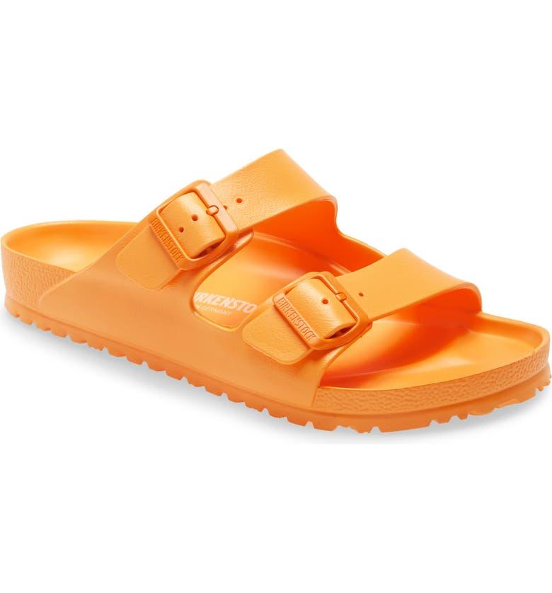 BIRKENSTOCK Essentials Arizona Waterproof Slide Sandal, Main, color, ZINNIA