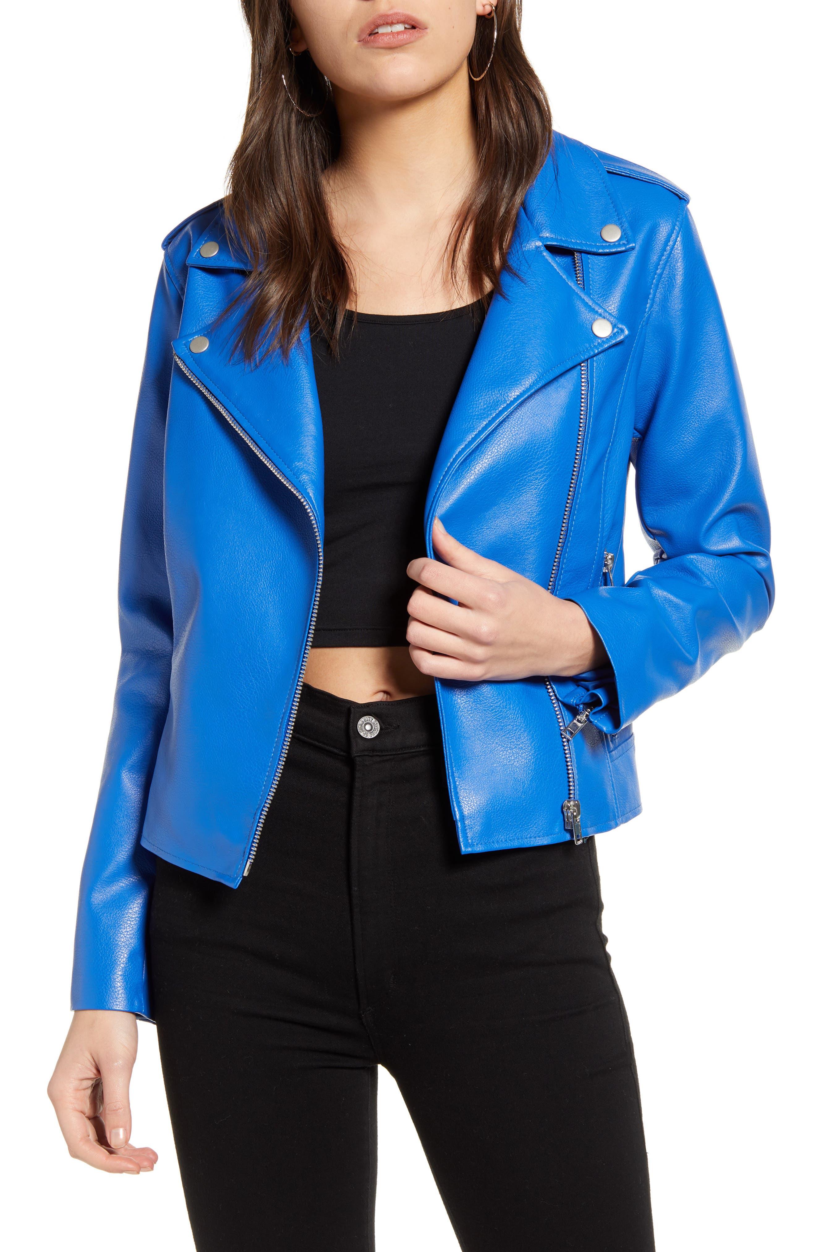 Image of BB Dakota Just Ride Faux Leather Jacket