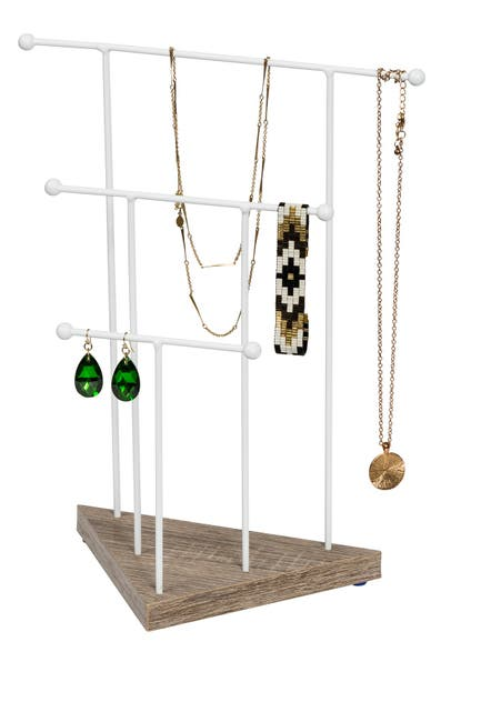 Image of Honey-Can-Do Geometric 3-Tier Necklace Stand