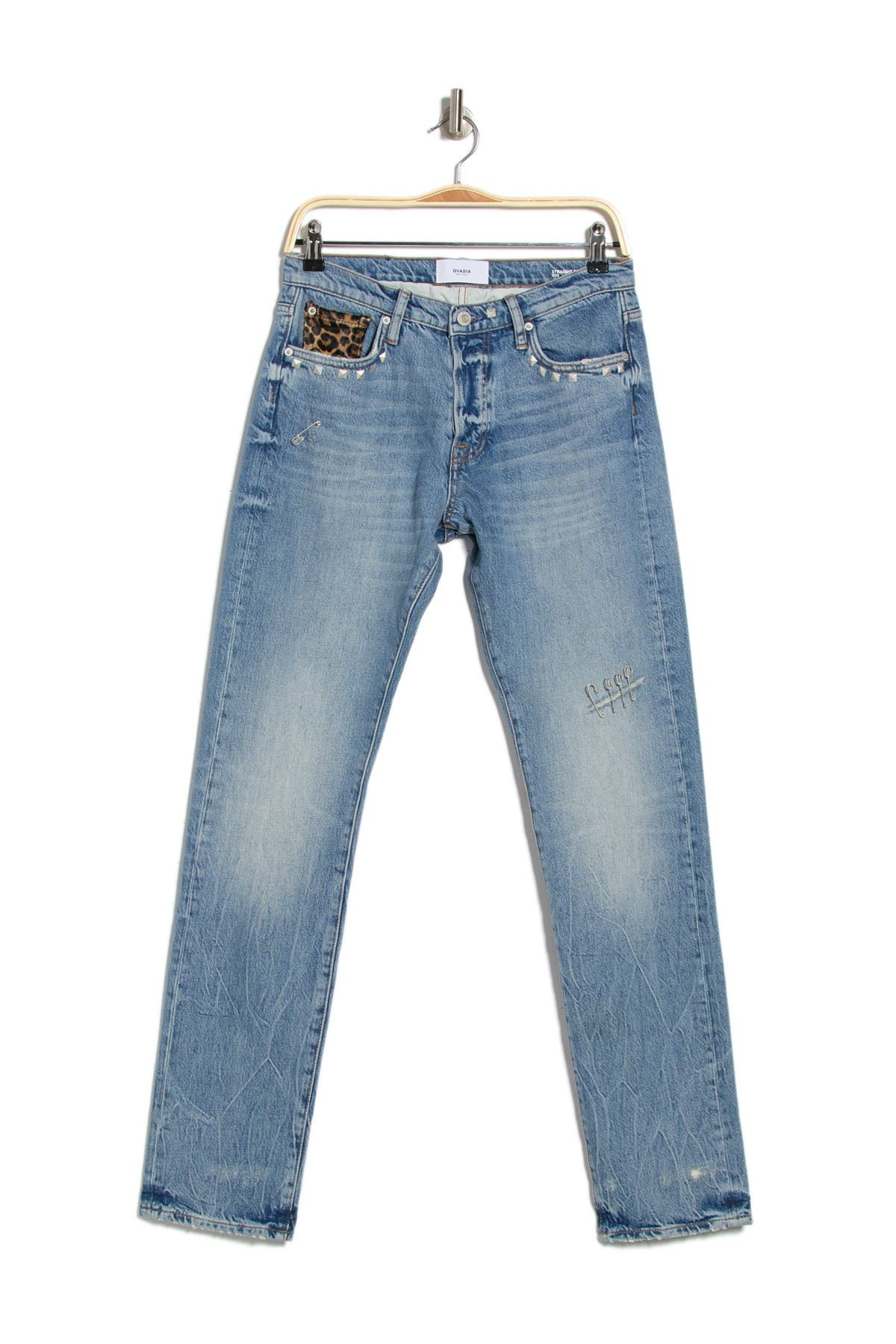Image of OVADIA AND SONS Straight Tapered Leg Jeans
