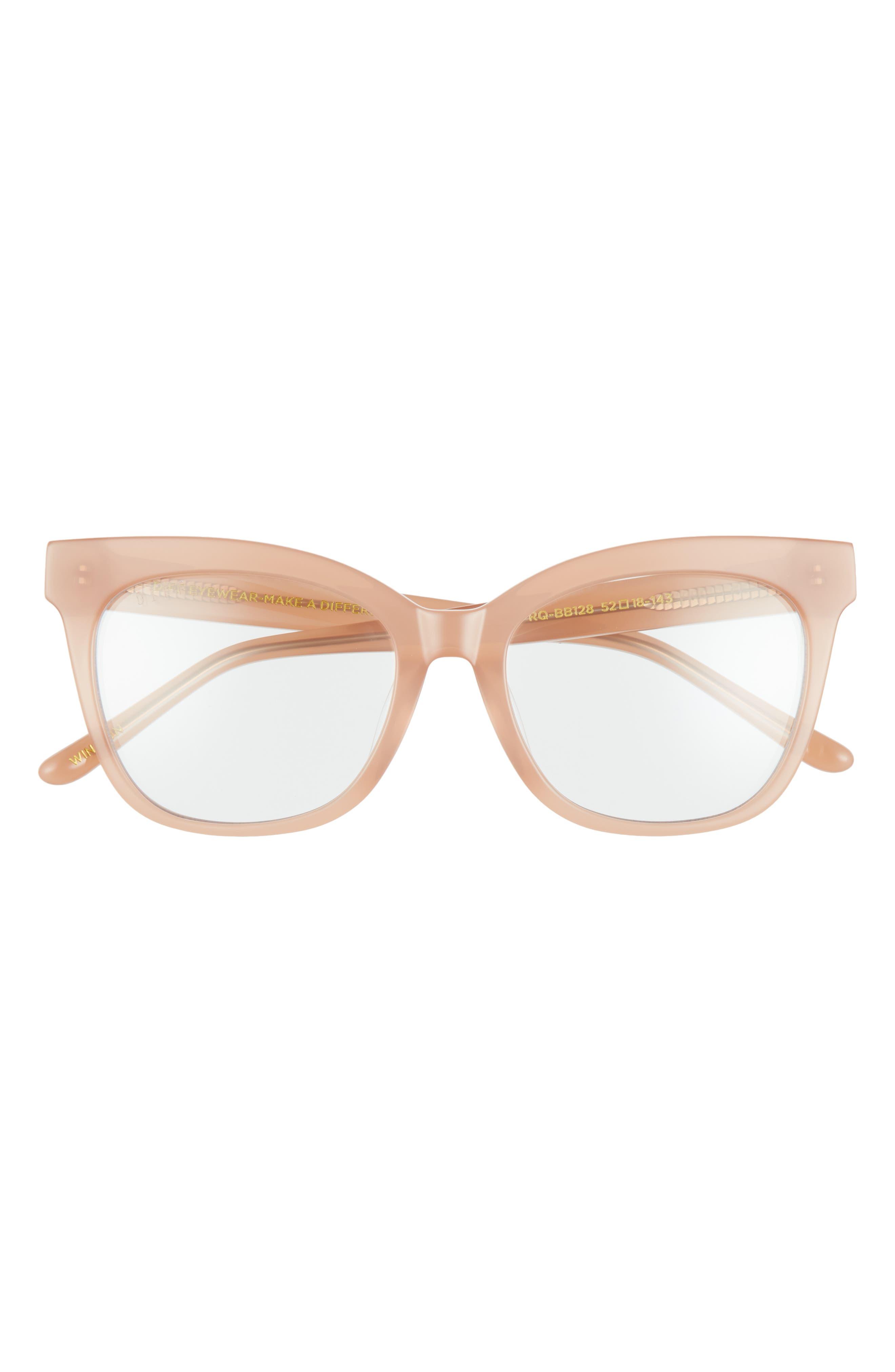 Winston 52mm Blue Light Blocking Glasses