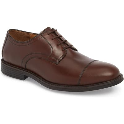 Johnston & Murphy Hollis Xc4 Waterproof Cap Toe Derby, Brown