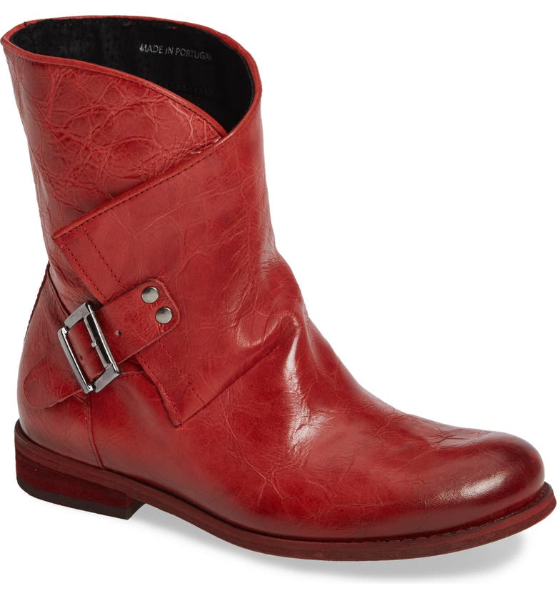 SHERIDAN MIA Casey Bootie, Main, color, RED LEATHER