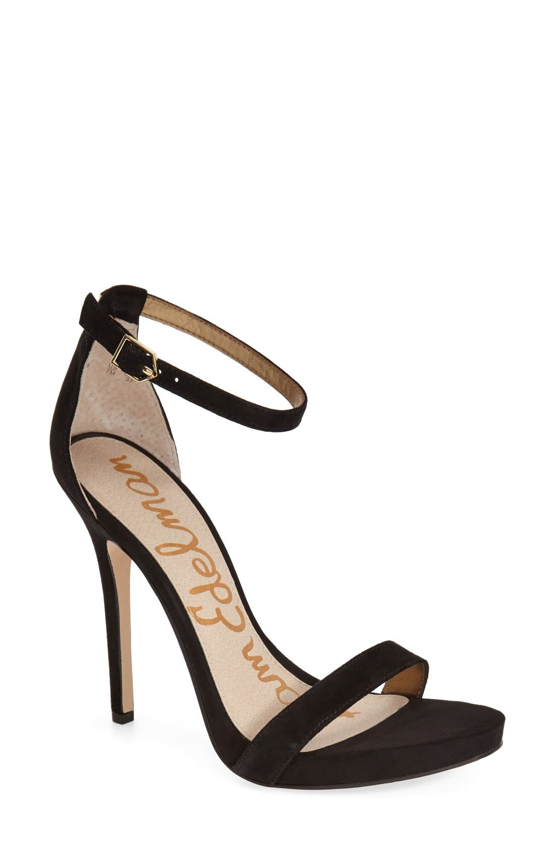 ,                             'Eleanor' Ankle Strap Sandal,                             Main thumbnail 19, color,                             003