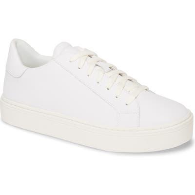 Steven By Steve Madden Bass Platform Sneaker, White