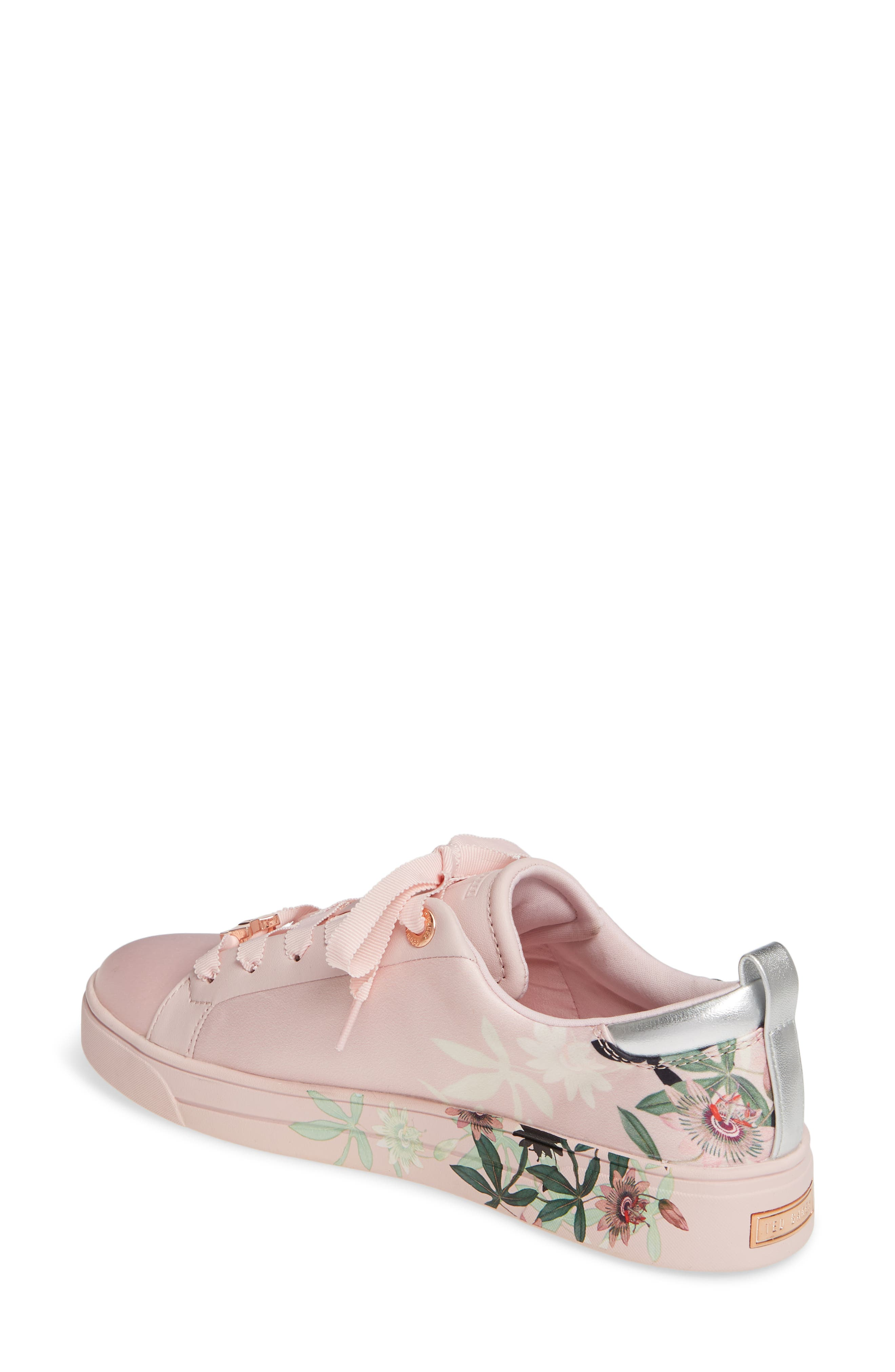 ,                             Rialy Sneaker,                             Alternate thumbnail 2, color,                             PINK ILLUSION SATIN