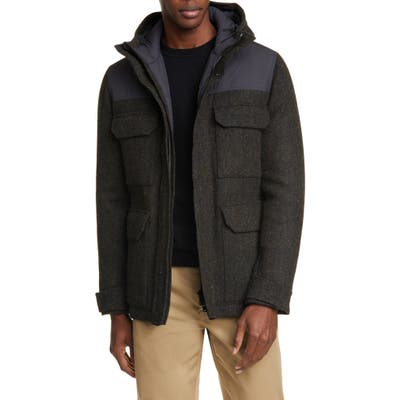 Norse Projects Nunk Harris Tweed Jacket, Black