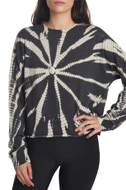 Image of SAGE COLLECTIVE Tie-Dye Dolman Pullover Sweatshirt
