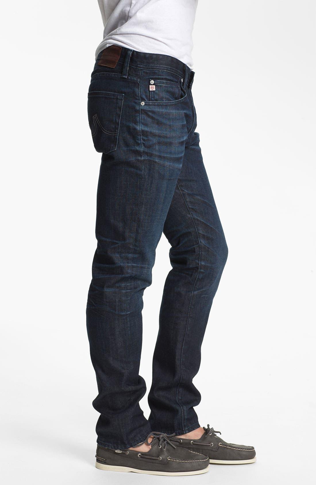 ,                             'Dylan' Slim Skinny Leg Jeans,                             Alternate thumbnail 14, color,                             467
