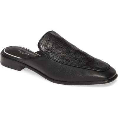 Rag & Bone Aslen Loafer Mule, Black