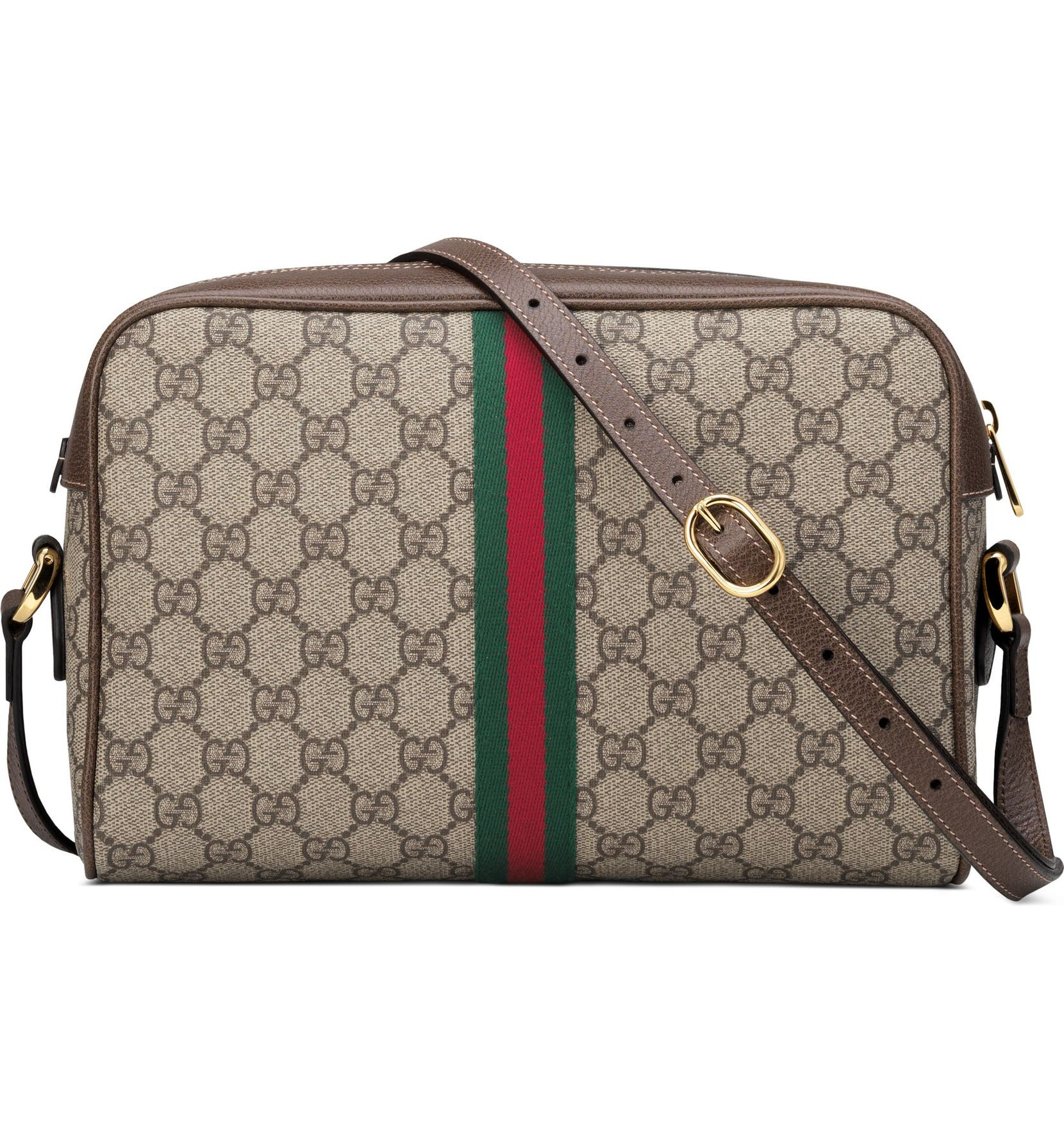 f3bc88cf2e47 Gucci Ophidia GG Supreme Canvas Crossbody Bag | Nordstrom