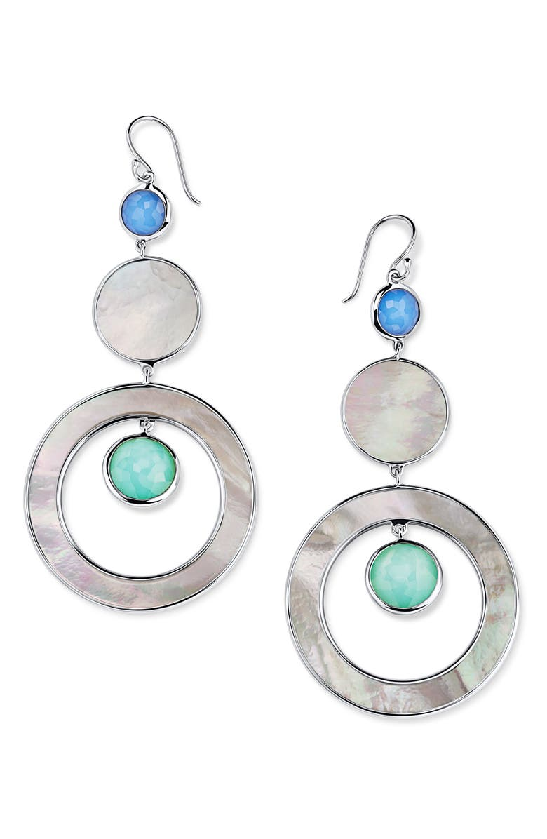 IPPOLITA Wonderland Tiered Drop Earrings, Main, color, 400