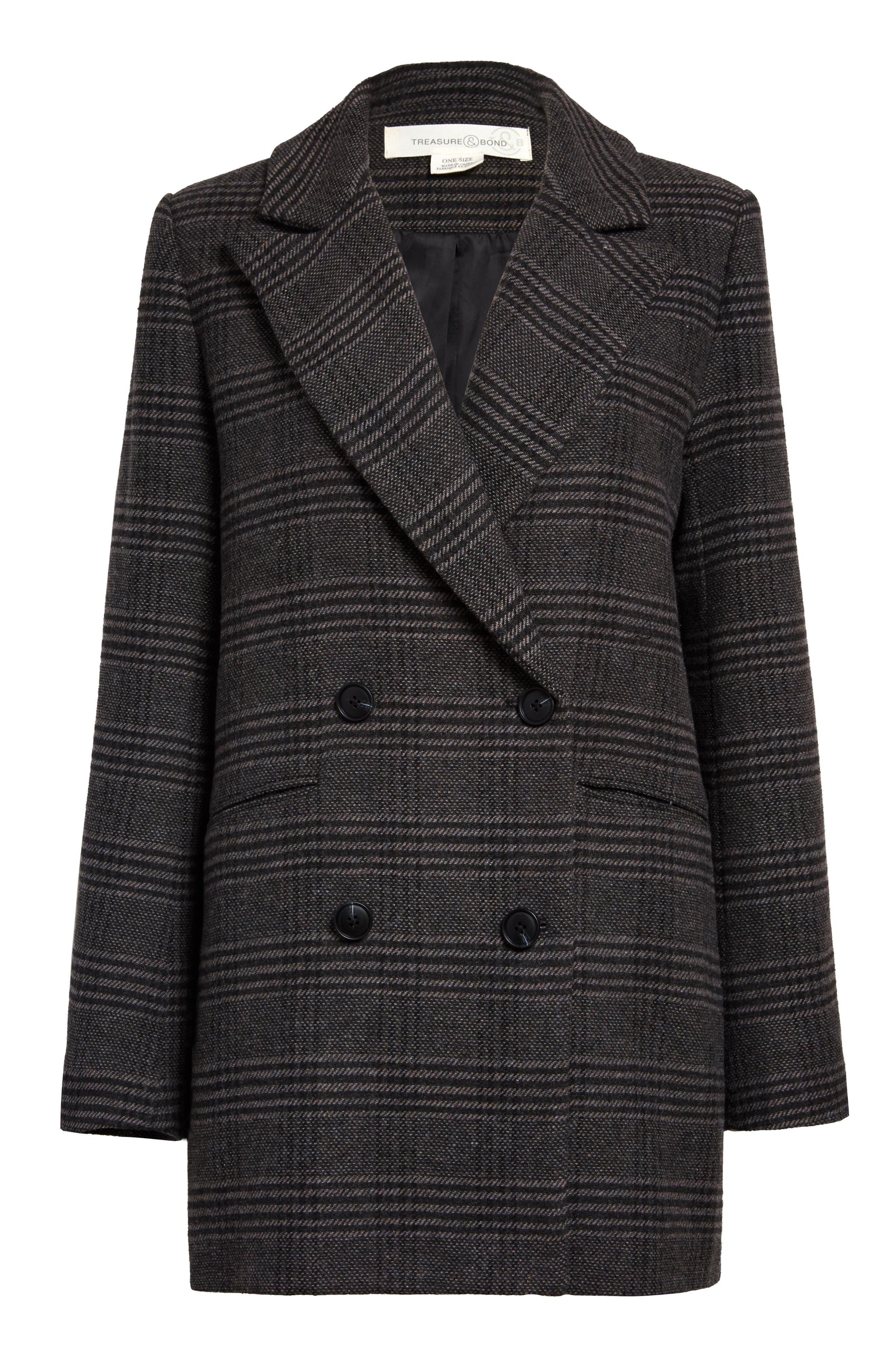Treasure & Bond Two-Button Double Breasted Blazer Coat | Nordstrom