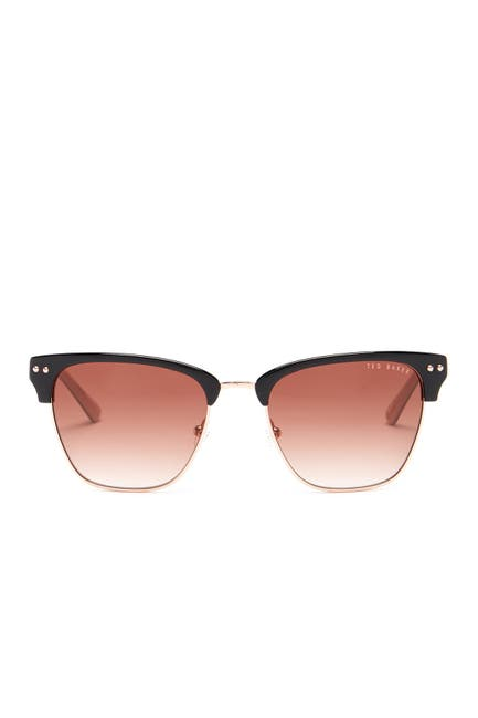 Image of Ted Baker London 52mm Clubmaster Sunglasses