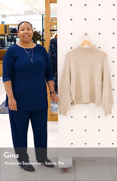 Mock Neck Sweater, sales video thumbnail