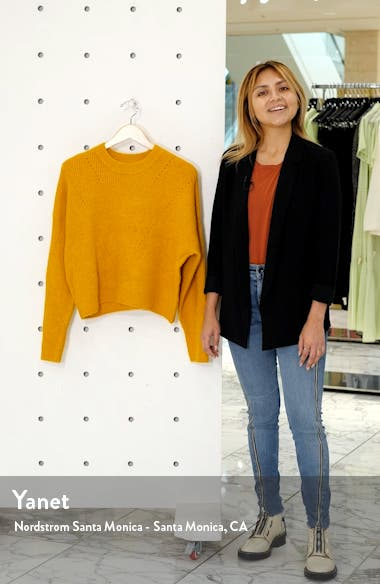 Crop Sweater, sales video thumbnail