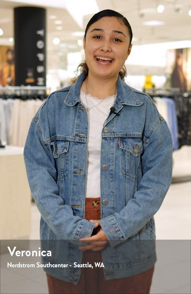 Scatter Print V-Neck Long Sleeve Midi Dress, sales video thumbnail