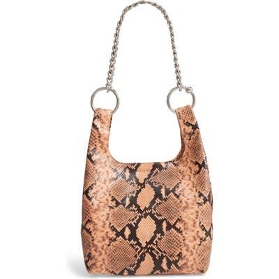 Rebecca Minkoff Karlie Chain Leather Shopper - Pink