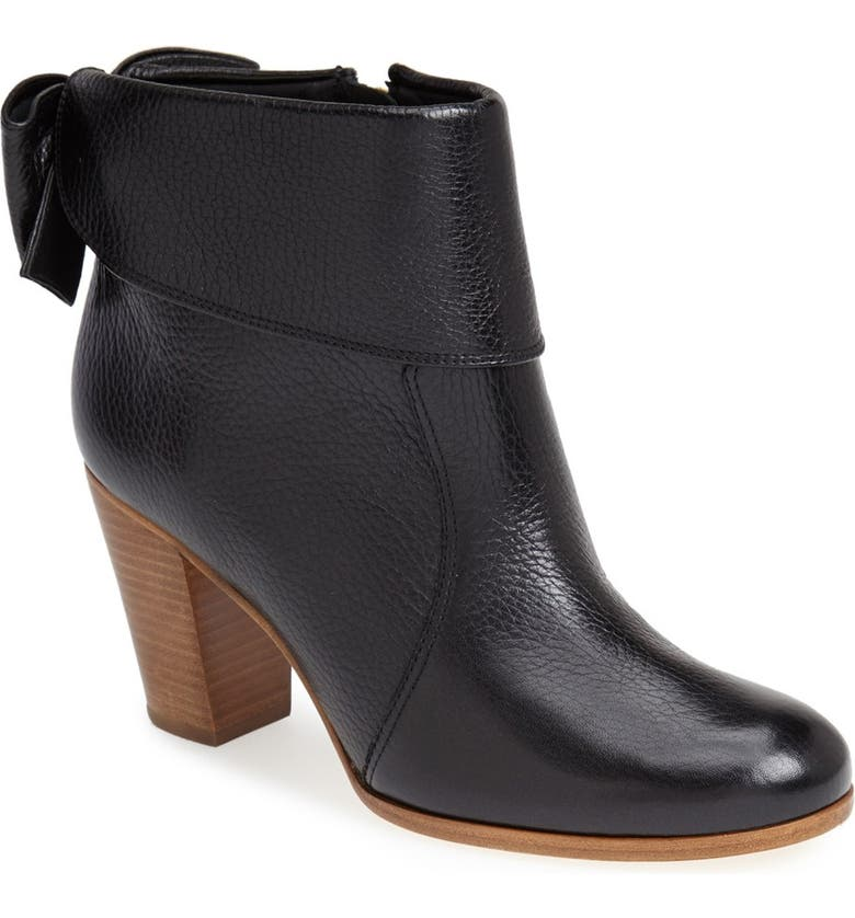 KATE SPADE NEW YORK 'lanise' leather boot, Main, color, 001