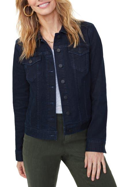 Image of NYDJ Collared Denim Jacket