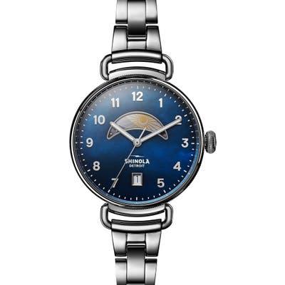Shinola The Canfield Bracelet Watch,
