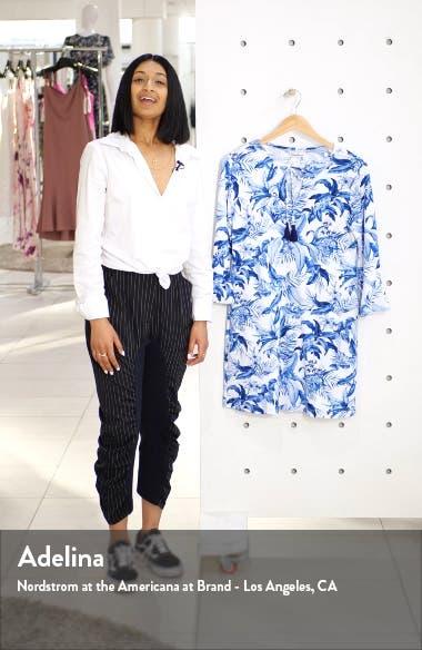 Indigo Garden Cover-Up Dress, sales video thumbnail
