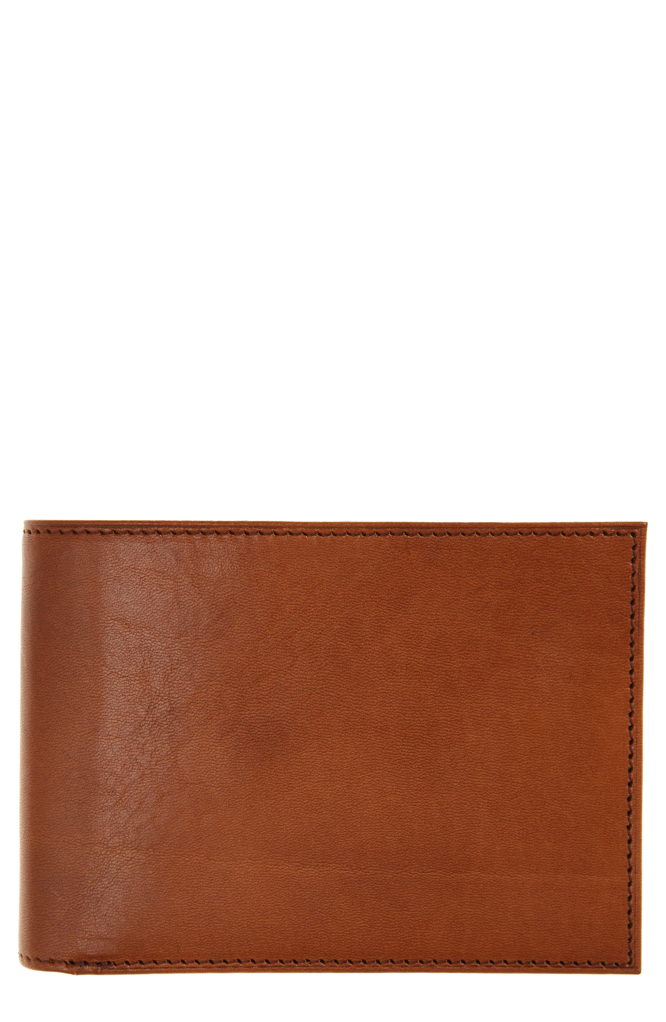 Aged Leather Executive Wallet