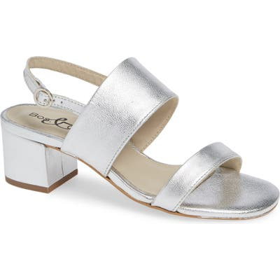 Bos. & Co. Trip Sandal - Metallic