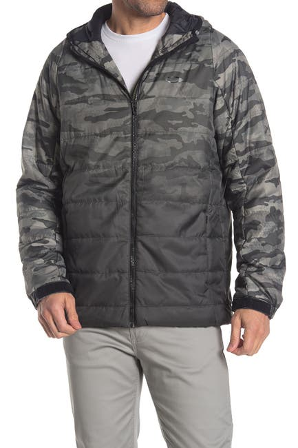 Image of Oakley Enhance Insulated Quilted Hooded Jacket