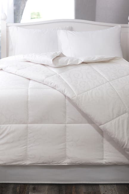 Image of Allied Home Candice Olson King Cotton Jacquard Down Alternative Comforter