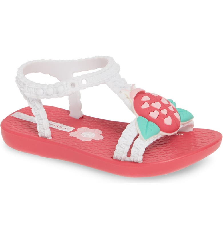 IPANEMA Buggy Baby Sandal, Main, color, PINK/ WHITE