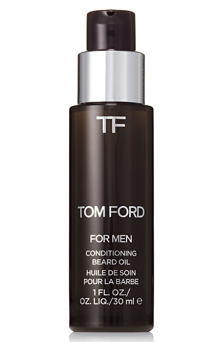 TOM FORD Conditioning Beard Oil, Main, color, OUD WOOD