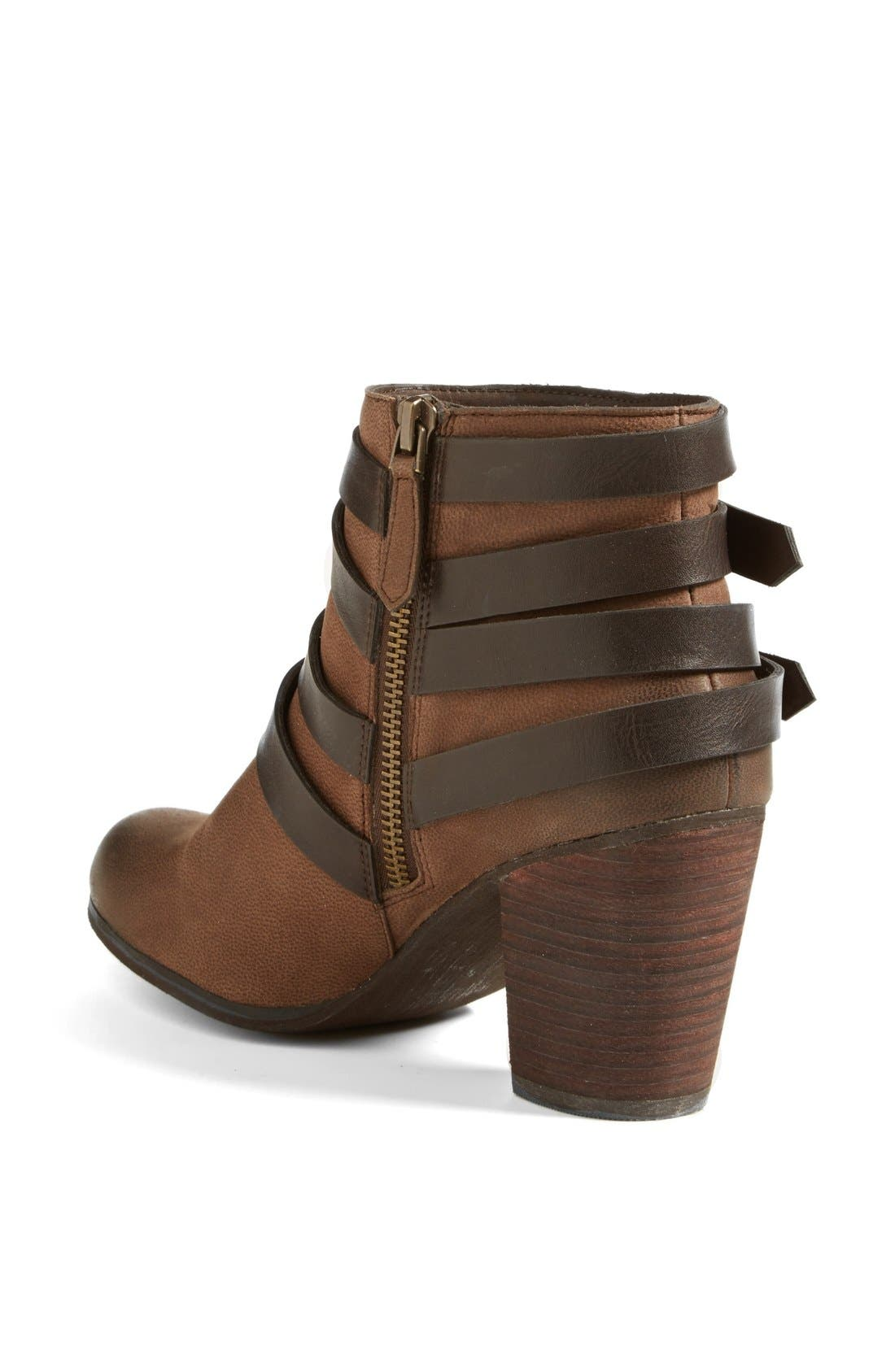,                             'Train' Wrap Belted Bootie,                             Alternate thumbnail 17, color,                             206