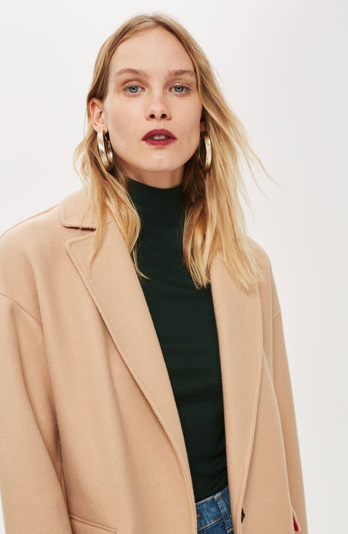 ,                             Lily Knit Back Midi Coat,                             Alternate thumbnail 27, color,                             252