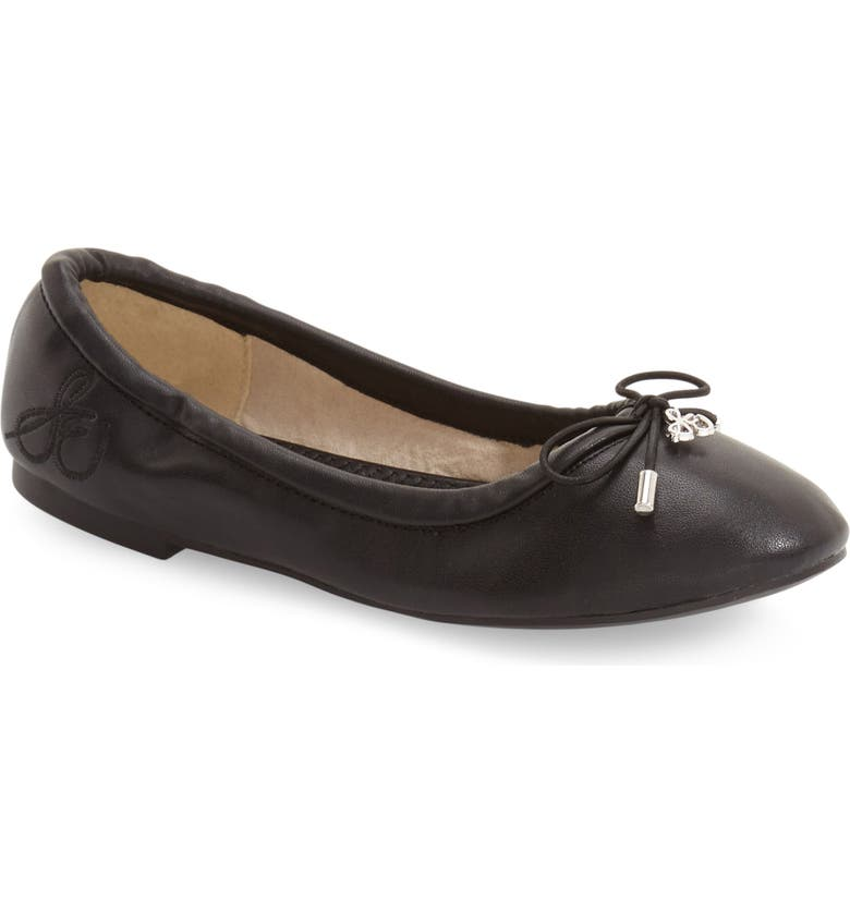 SAM EDELMAN 'Felicia' Ballet Flat, Main, color, 001