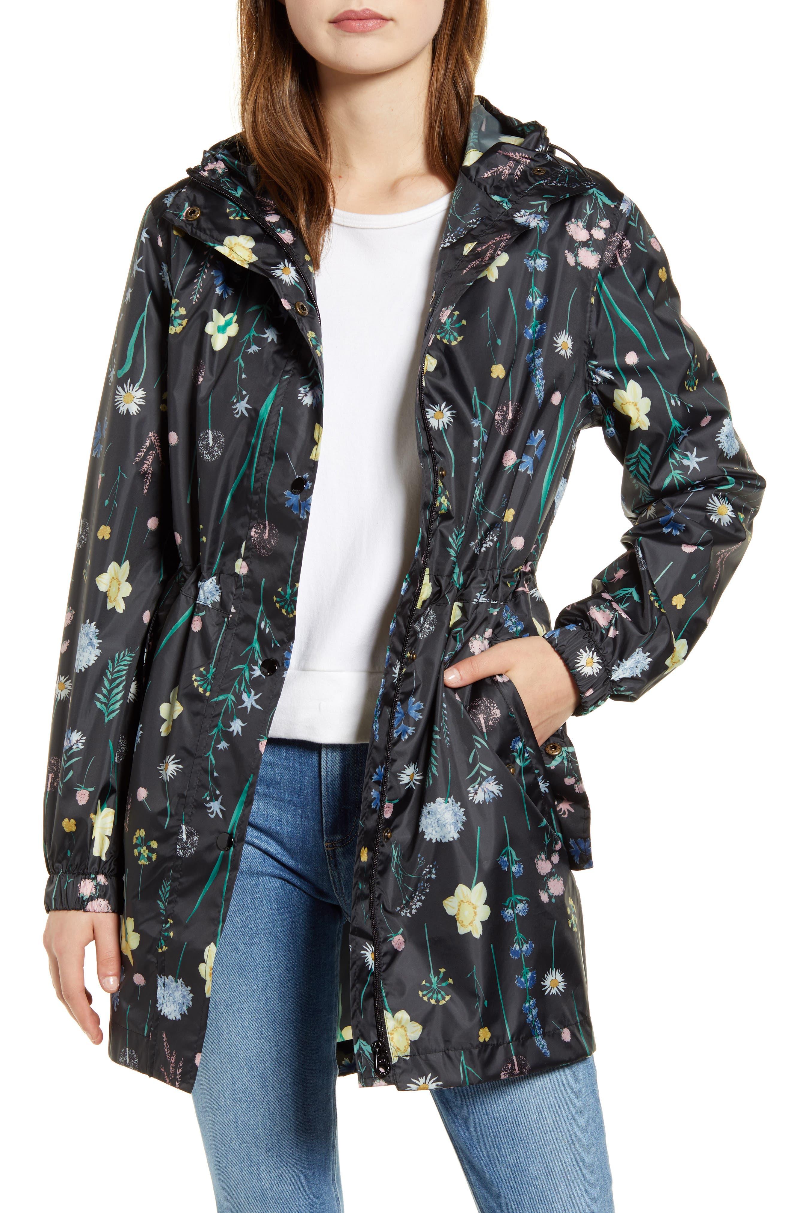 Image of Joules Packable Waterproof Rain Jacket