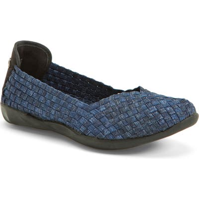 Bernie Mev. Catwalk Flat, Blue