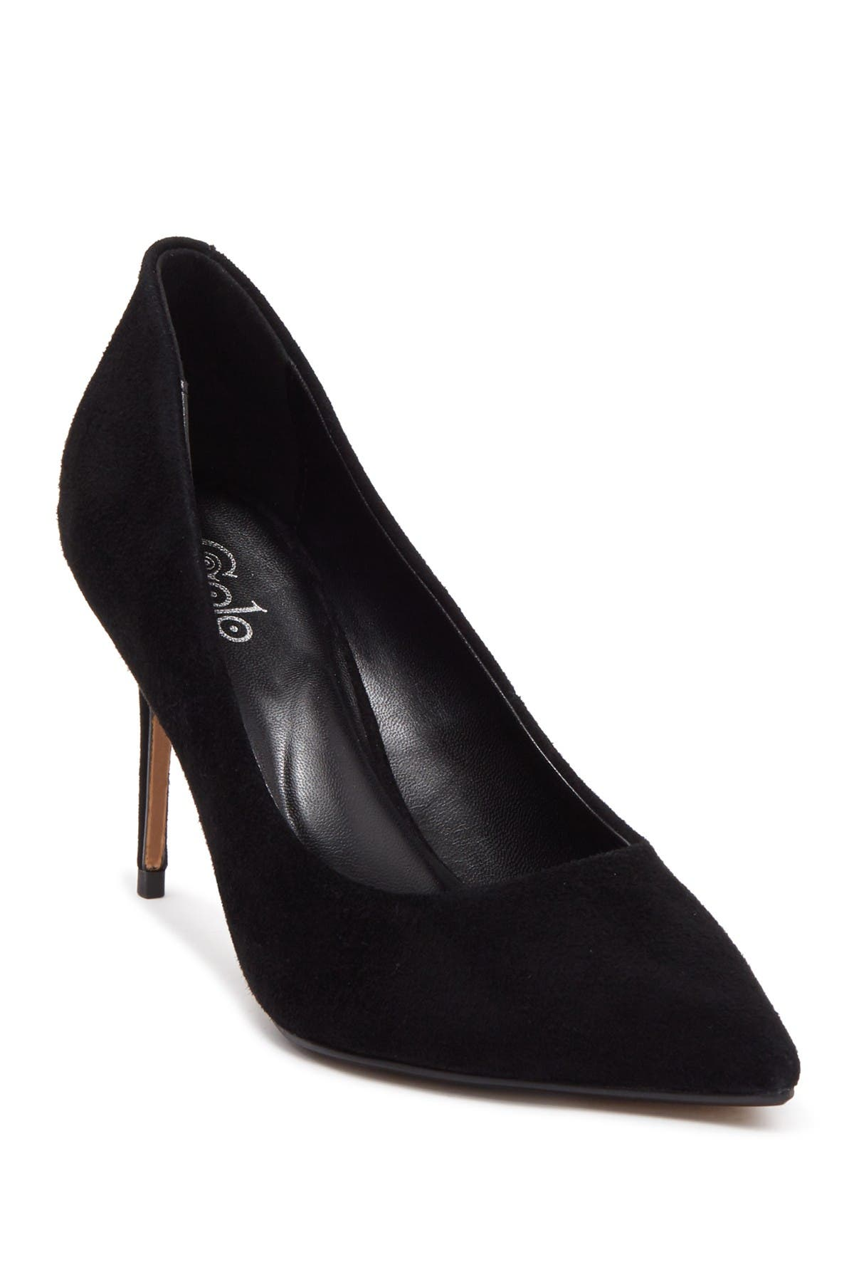 Image of Golo Eva Suede Pointed Toe Pump
