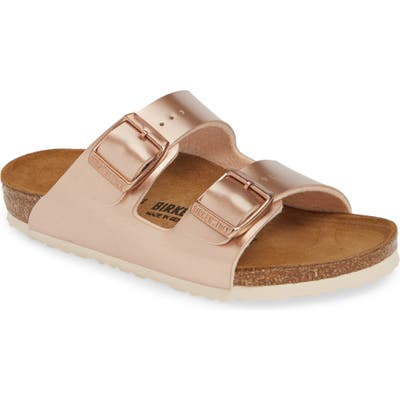 Birkenstock Arizona Metallic Slide Sandal