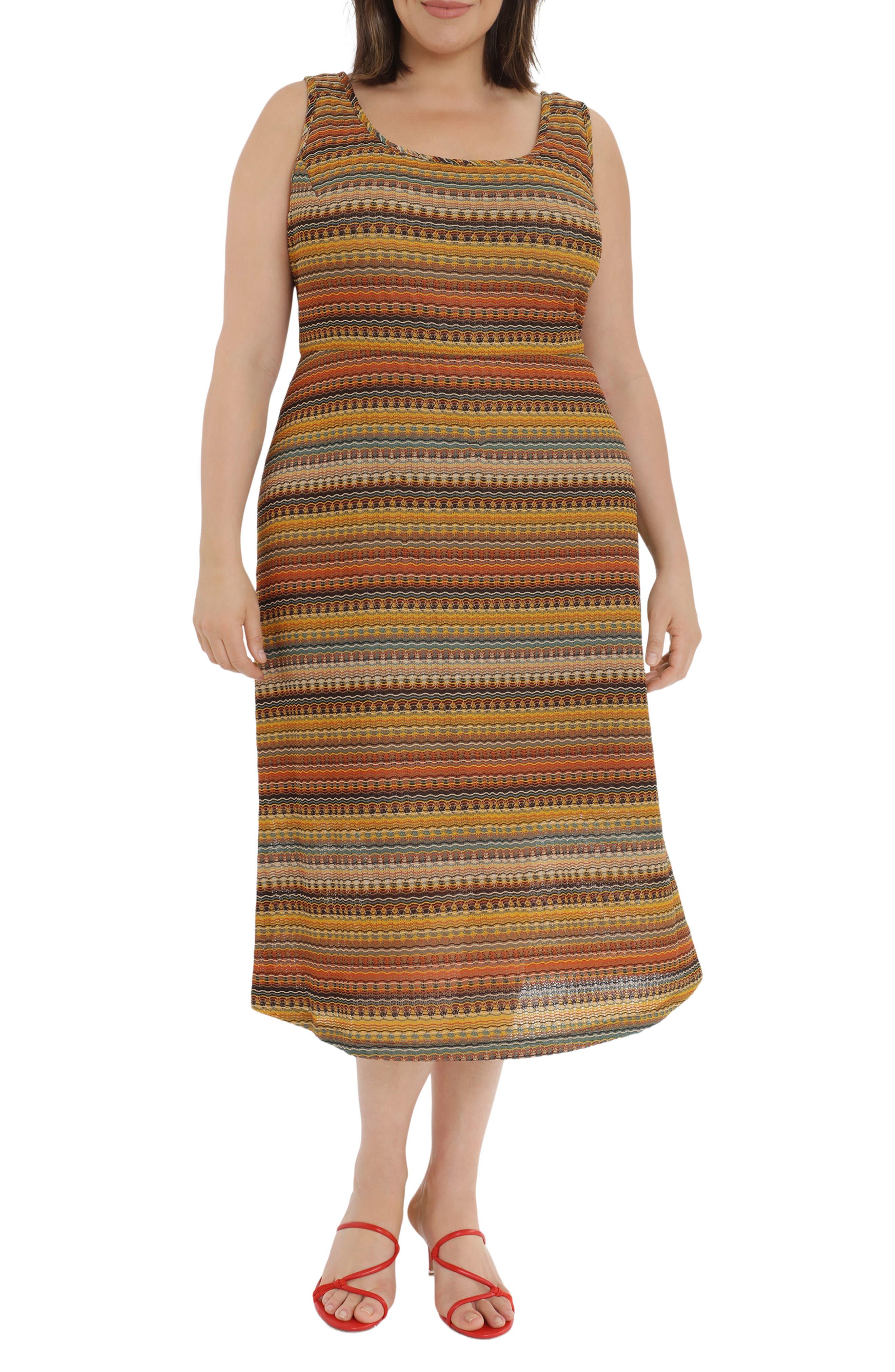 Crochet Sleeveless Midi Dress