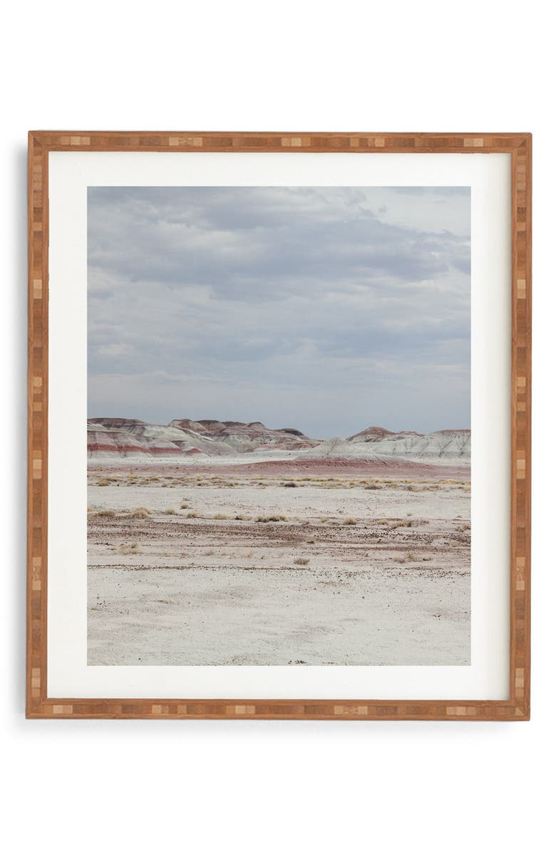Deny Designs Painted Desert Framed Wall Art