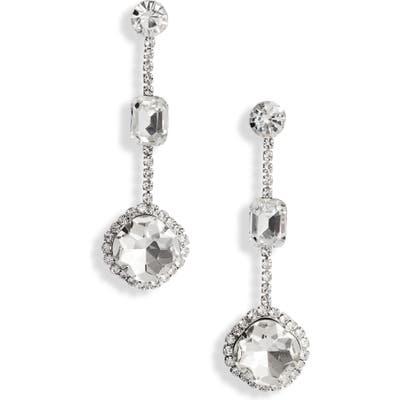 Cristabelle Multi Crystal Station Earrings